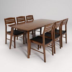 Bộ bàn ghế ăn gia đìnhBA505A-GA505