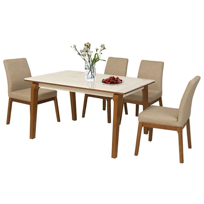 Bộ bàn ghế ăn HGB76B-HGG76