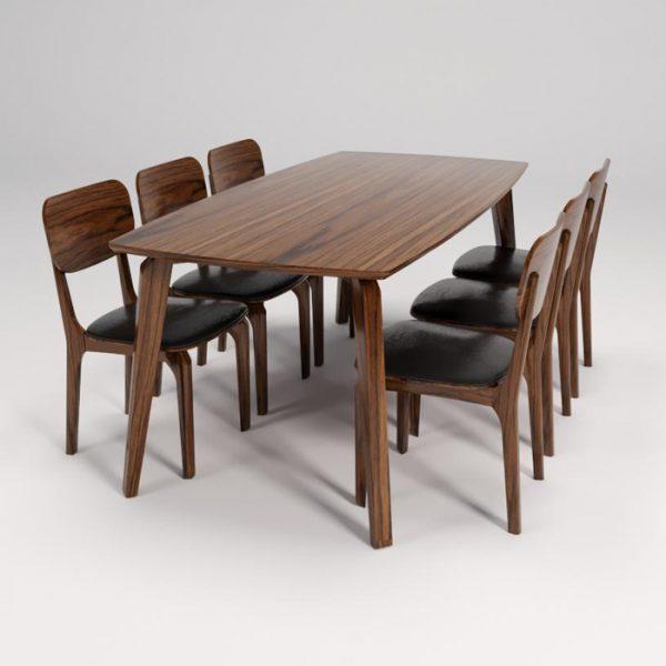 Bộ bàn ghế ăn gia đình BA504A-GA504