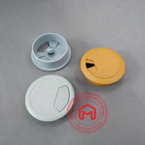 Nắp luồn dây điện tròn bằng nhựa